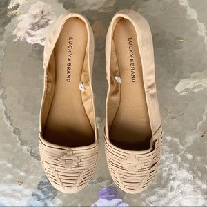 Lucky brand emely nude ballet flats